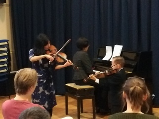 from the class concert